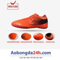 Giày đá bóng trẻ em WIKA Flash màu Cam chính hãng