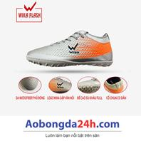 Giày đá bóng trẻ em WIKA Flash màu Bạc chính hãng