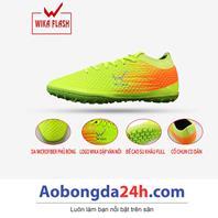 Giày đá bóng trẻ em WIKA Flash màu Chuối chính hãng