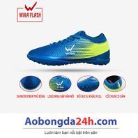 Giày đá bóng trẻ em WIKA Flash màu Xanh chính hãng