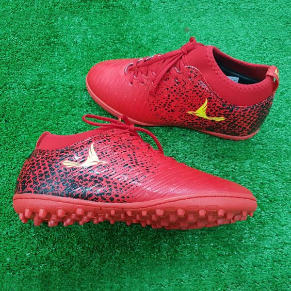 Giày Mira 02 (MR02) màu đỏ ngọc, đinh TF, da PU chống nước - 02