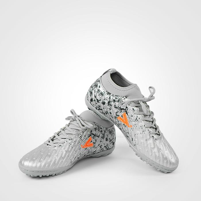 Giày bóng đá Mitre 170501 cao cổ màu bạc-02
