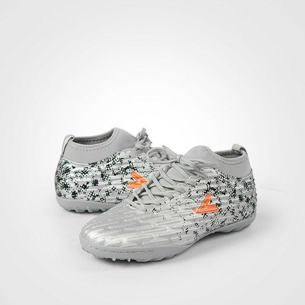 Giày bóng đá Mitre 170501 cao cổ màu bạc-03