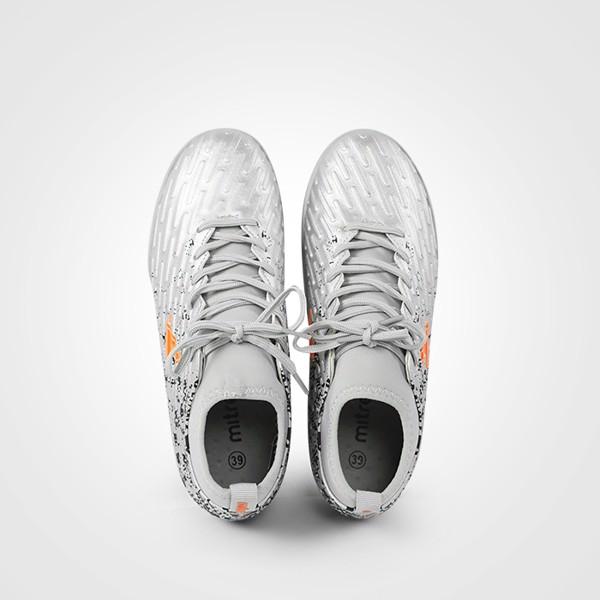 Giày bóng đá Mitre 170501 cao cổ màu bạc-04