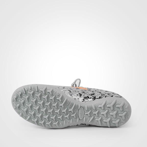 Giày bóng đá Mitre 170501 cao cổ màu bạc-05