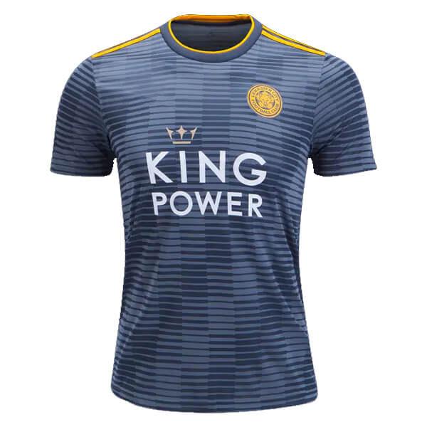 áo đấu Leicester City 2018 2019 Sân Khách Màu Xám