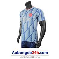 Áo CLB Ajax Amsterdam 2020 - 2021 sân khách màu xanh da trời