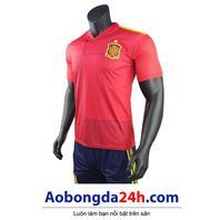 Áo đội tuyển Tây Ban Nha đỏ 2020 - 2021 mẫu mới màu đỏ