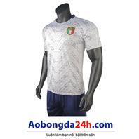 Áo Italia Euro 2021 màu trắng sân khách