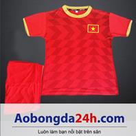 Áo bóng đá trẻ em đội tuyển Việt Nam 2018-2019 sân nhà