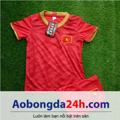 Quần áo thể thao trẻ em đội tuyển Việt Nam 2018-2019 sân nhà