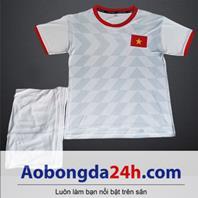 Quần áo thể thao trẻ em đội tuyển Việt Nam 2018-2019 sân khách