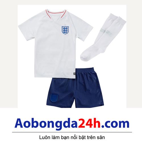 Đồ thể ao trẻ em đội tuyển Anh 2018-2019 sân nhà