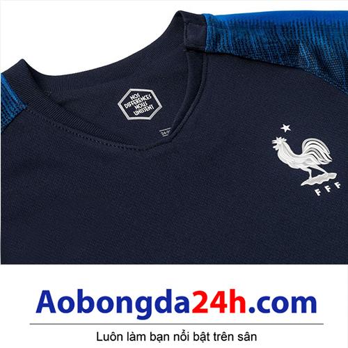 Quần áo thể thao trẻ em đội tuyển Pháp 2018-2019 sân nhà