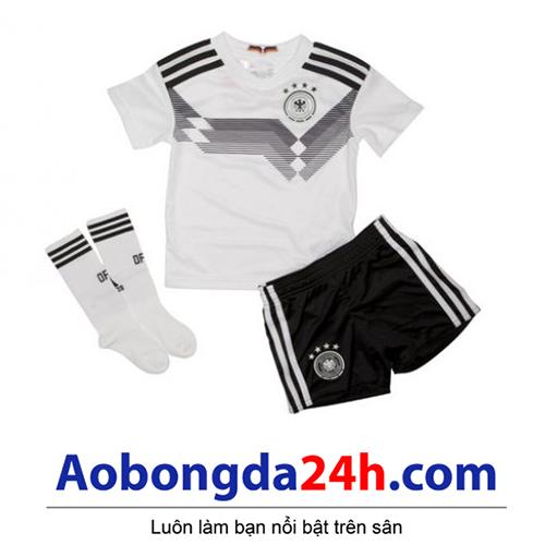Quần áo thể thao trẻ em đội tuyển Đức 2018-2019 sân nhà