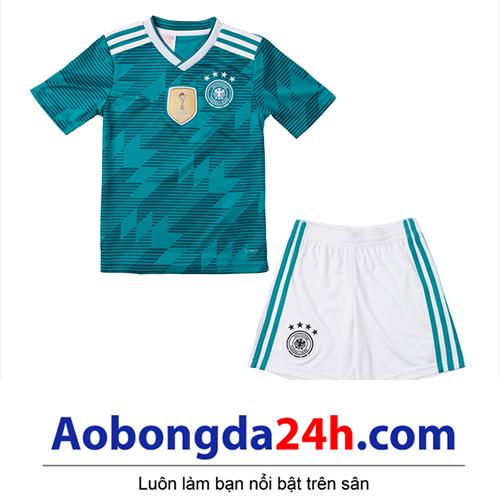 Quần áo thể thao trẻ em đội tuyển Đức 2018-2019 sân khách