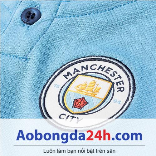 Quần áo thể thao trẻ em Man City 2018 sân nhà