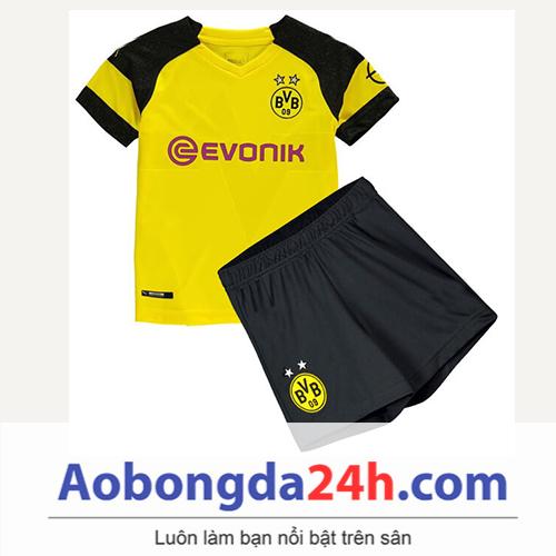 Quần áo thể thao trẻ em Dortmund 2018 sân nhà